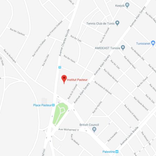 Institut Pasteur Google Maps